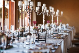 Candelabras for an Event